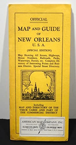 MAP AND GUIDE OF NEW ORLEANS