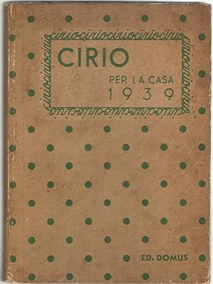 Cirio per la casa 1939: Morelli, Lidia