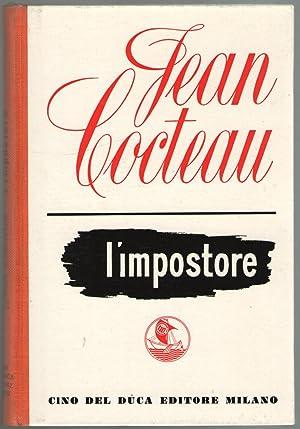 L'impostore. Con quaranta disegni dell'autore.: Cocteau, Jean