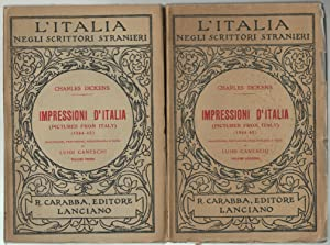 Impressioni d'Italia (Pictures from Italy) (1844-45). Volume: Dickens, Charles