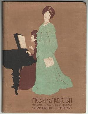 Musica e musicisti (Gazzetta Musicale di Milano).: Ricordi, Giulio (diretta