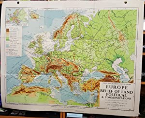 Shop maps books and collectibles abebooks deeside books philips small school room map of europe physical gumiabroncs Choice Image