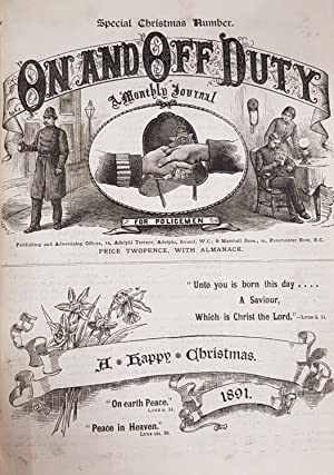 On and Off Duty: A Monthly Journal for Policemen, 1891 & 1892 Complete.