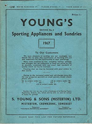 Young's Sporting Appliances and Sundries 1967, Section No.2.