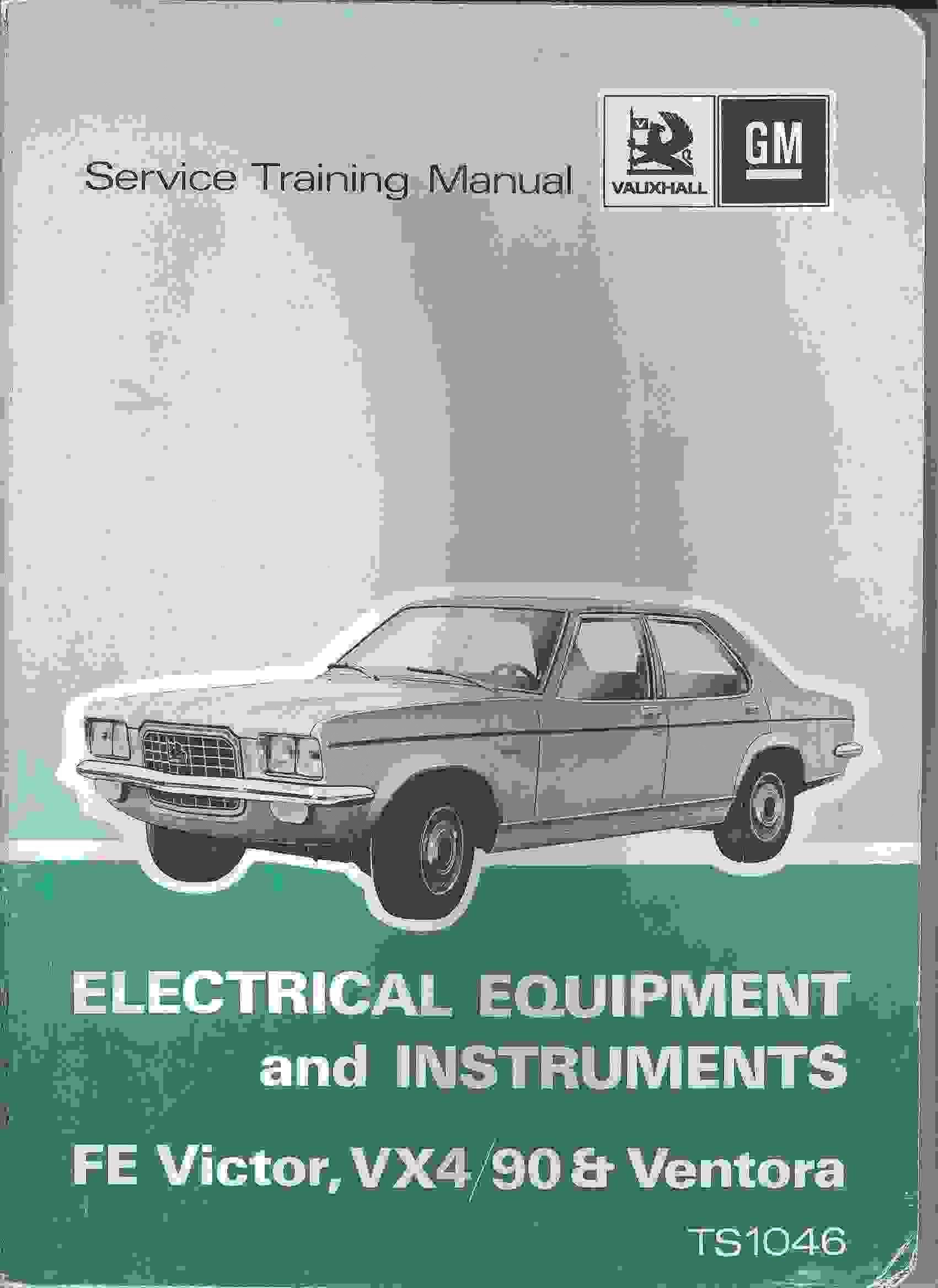 Vauxhall Service Training Manual Electrical