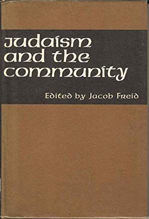 Judaism and the Community. New Directions in Jewish Social Work