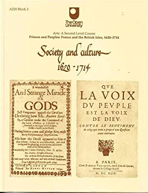 Princes and Peoples : France and the British Isles, 1620-1714. Society and Cultutre 1620 - 1714
