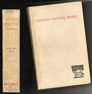 The Poetical Works of John Milton (2 Volumes)