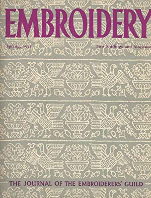 Embroidery Spring, 1952. The Journal of the Embroiderers' Guild