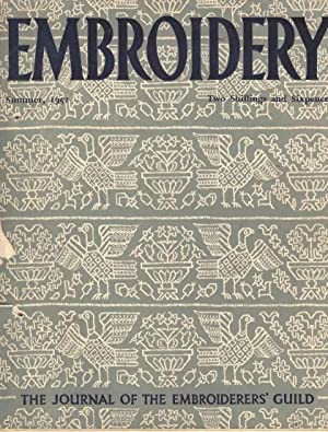 Embroidery Summer, 1952. The Journal of the Embroiderers' Guild