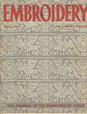 Embroidery Winter, 1952. The Journal of the Embroiderers' Guild