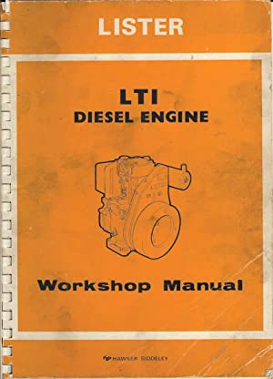 Lister LT1 Diesel Engine Workshop Manual (Publication