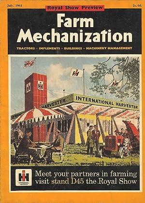 Farm Mechanization. Volume 13. No. 143 July: Anthony C Williams
