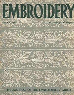 Embroidery Autumn, 1952. The Journal of the Embroiderers' Guild