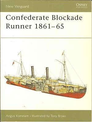 Confederate Blockade Runner 1861-65 (New Vanguard 92): Konstam, Angus