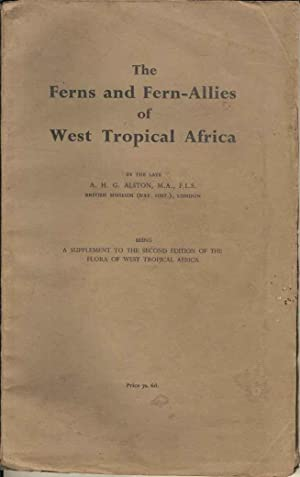 The Ferns and Fern-Allies of West Tropical Africa