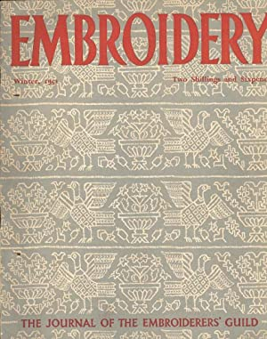 Embroidery Winter, 1951. The Journal of the Embroiderers' Guild
