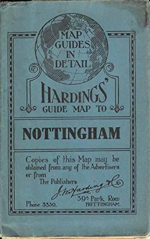 Hardings' Guide Map to Nottingham (Map Guides in Detail)