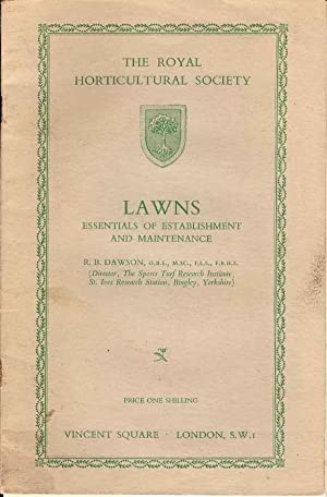 Lawns Essentials of Establishment and Maintenance