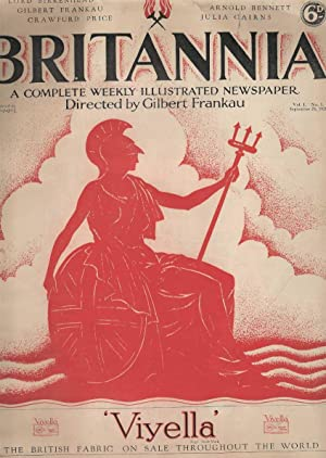 Britannia. A Complete Weekly Illustrated Newspaper. Vol I. No. I September 28, 1928