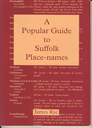 A Popular Guide to Suffolk Place Names
