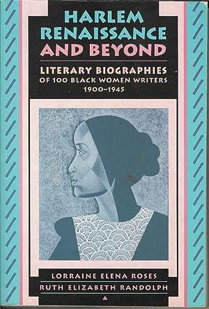 Harlem Renaissance and Beyond : Literary Biographies: Lorraine Elena Roses
