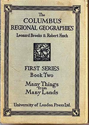 The Columbus Regional Geographies. First Series Book: Brooks, Leonard and