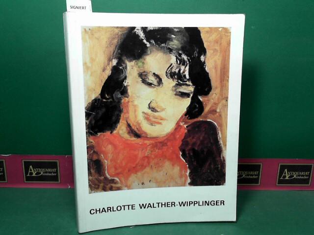 Charlotte Walther-Wipplinger - Ölbilder, Aquarelle, Zeichnungen.: Busch, Günter, Imma