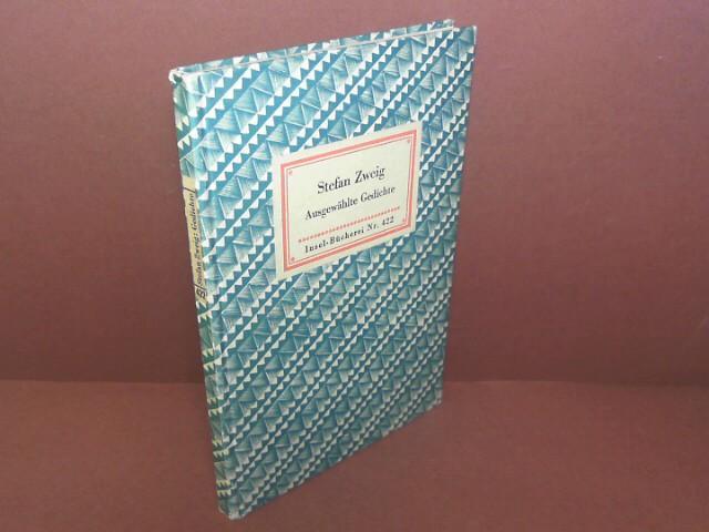 Ausgewählte Gedichte Insel Bücherei Nr422 De Zweig