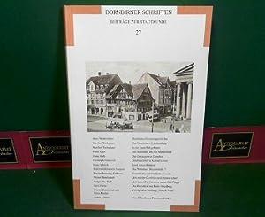 Dornbirner Schriften - Beiträge zur Stadtgeschichte, Nr. 27.