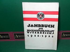 Jahrbuch der Hochschülerschaft Österreichs 1935-1936.: Hochschülerschaft Österreich (Hrsg.):
