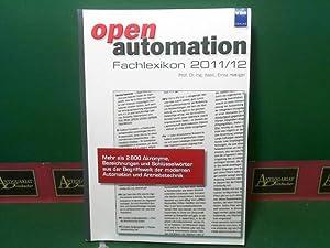 openautomation Fachlexikon 2011/12 - Mehr als 2800 Akronyme, Bezeichnungen und Schlüsselw...