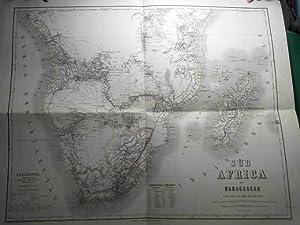 Südafrica mit Madagascar, im Maasstab von 1/8.000.000: Graf, Adolf: