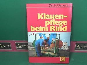 Klauenpflege beim Rind.: Clemente, Carl H.: