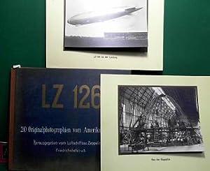 LZ 126 - 20 Originalphotographien vom Amerika-Luftschiff - Herausgegeben vom Luftschiffbau Zeppelin...