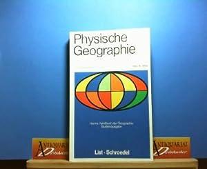 Physische Geographie und Nachbarwissenschaften. (= Harmes Handbuch der Geographie).: Jätzold, Ralph...