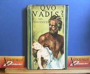 Quo Vadis? Historischer Roman aus der Zeit: Sienkiewicz, Henryk: