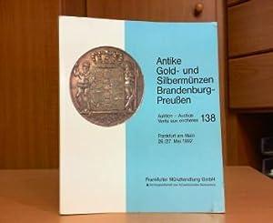 Antike Gold- und Silbermünzen Brandenburg-Preußen - Auktion: Frankfurter Münzhandlung GmbH,