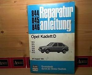 Opel Kadett D. - 12 N / 12 S / 13 N / 13 S / 16 S / GTE - ab August 1981. ...