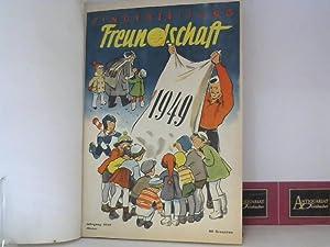 Kinderzeitung Freundschaft - Jahrgang 1949 - vollständig.