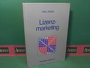 Lizenzmarketing: Rübig, Paul: