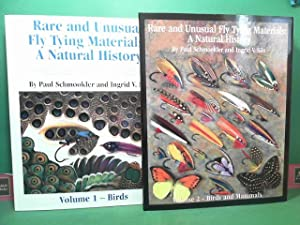 Rare and unusual fly tying materials: A natural history treating both standard and rare materials...