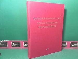 ÖMZ - Österreichische Militärische Zeitschrift - 38.Jahrgang 2000 (vollständig gebunden).