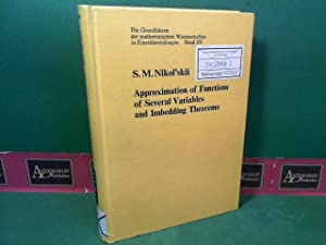 Approximation of Functions of Several Variables and: Nikol'skii, S.M.: