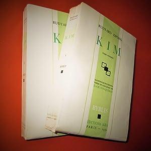 KIM. (2 tomes).- Illustrations en couleurs de: KIPLING (Rudyard)