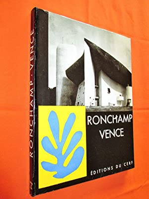 Les Chapelles du Rosaire à Vence, par: COUTURIER (M.-A.).