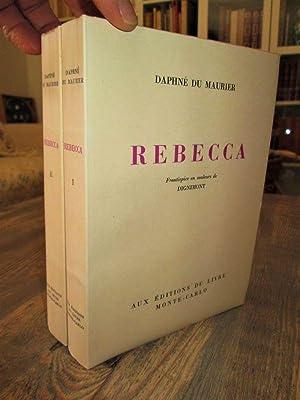 Rebecca (en 2 vol.) Frontispices en couleurs: DAPHNE DU MAURIER