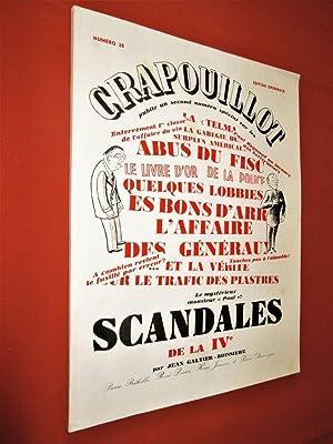 Numéro spécial: Scandales de la IVe. EDITION: CRAPOUILLOT (Le)- Sous