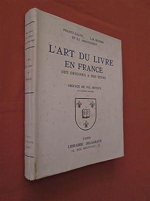 L'art du livre en France des origines: CALOT, Frantz -