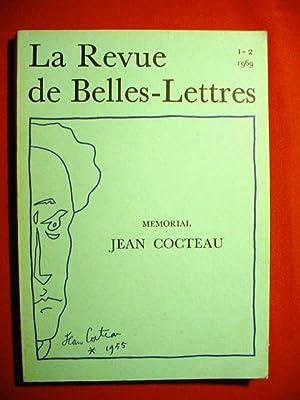 Mémorial jean Cocteau (Revue des belles-Lettres n°: COCTEAU Jean-REVUE DES
